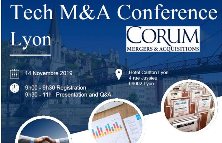 Conférence Tech M&A Lyon